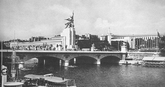 Павильон СССР в Париже 1937 год
