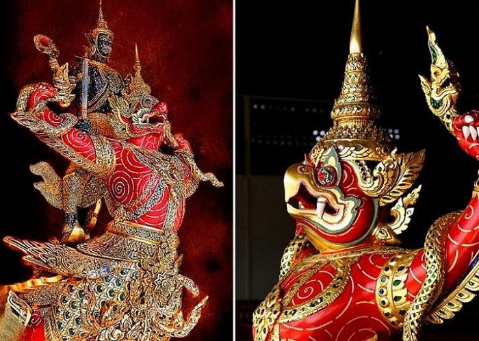 Носовая фигура на баркасе королевской семьи Таиланда