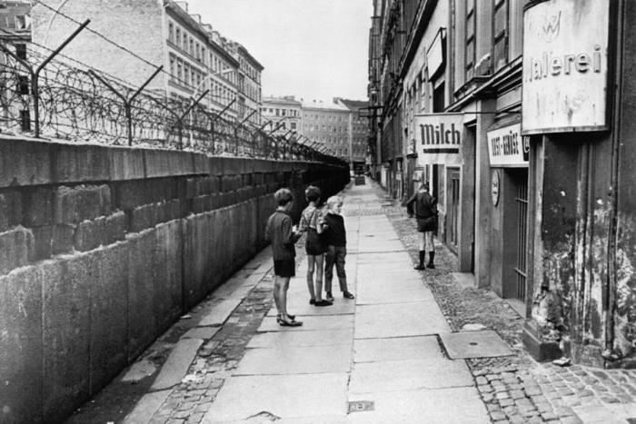 Дети улицах Берлина