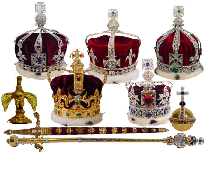 Как сделать платиновую корону 438