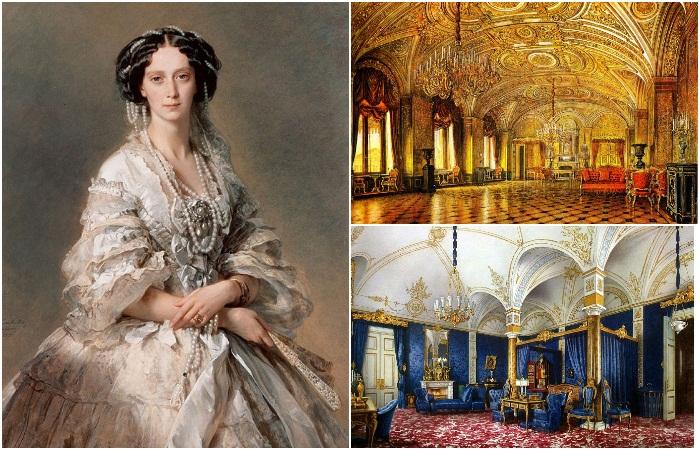 Зимний дворец Санкт-Петербурга: Личные покои императрицы Марии Александровны