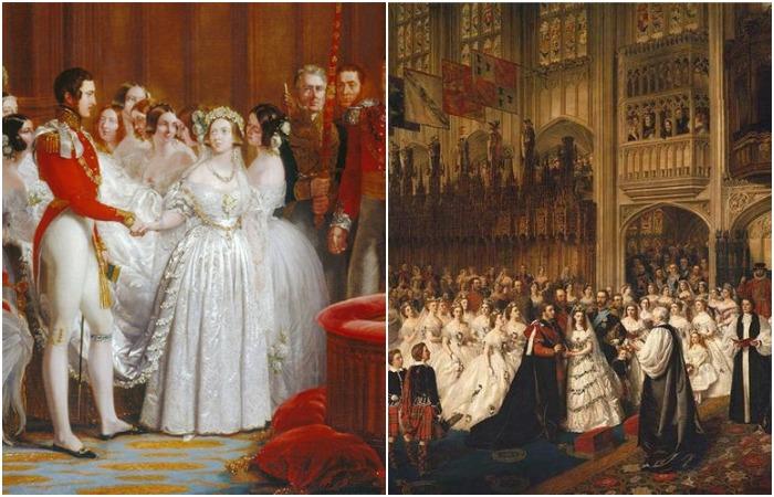 Свадебные платья: В каких нарядах шли под венец принцессы в XIX веке
