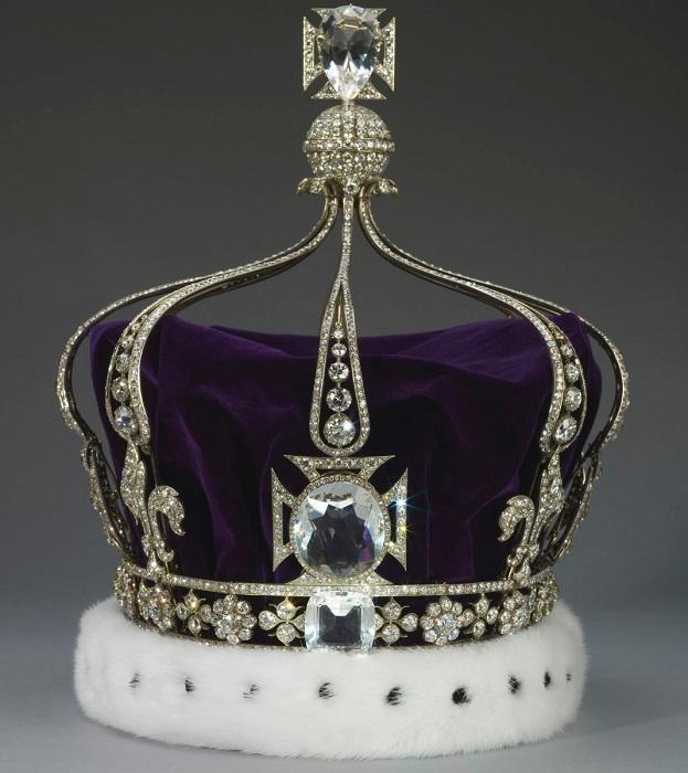 Как сделать платиновую корону 99