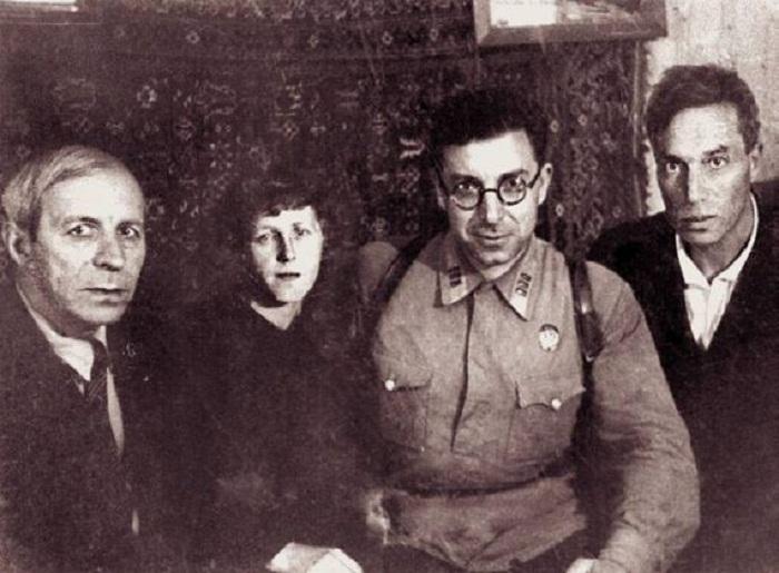 Николай Асеев, Мария Петровых, Илья Сельвинский, Борис Пастернак.
