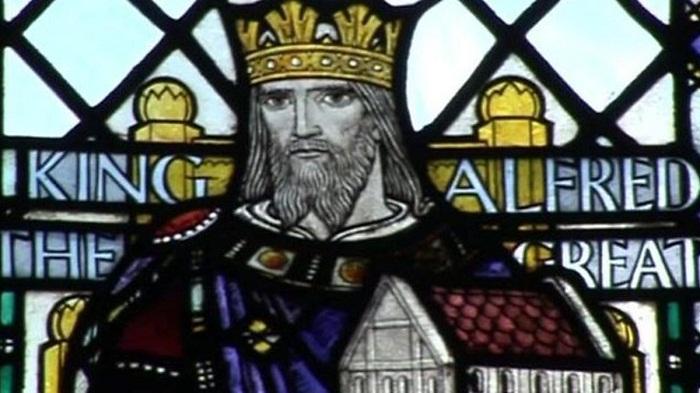 Альфред Великий, первый король Англии (849-899 гг.)