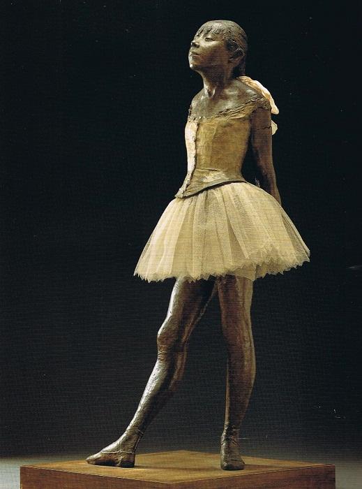 Маленькая четырнадцатилетняя танцовщица