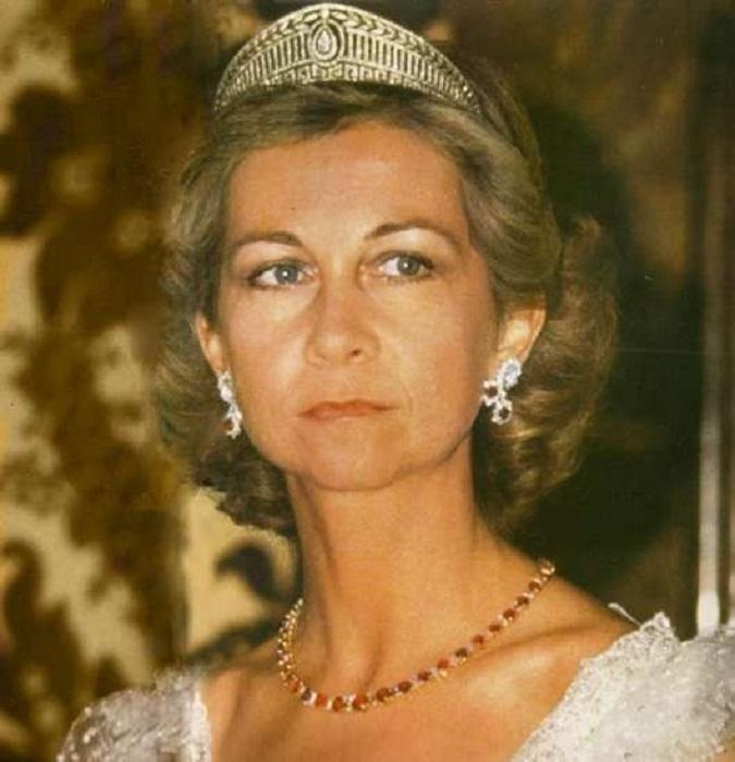 Королева София в Прусской тиаре