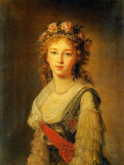 Портрет Великой княгини Елизаветы Алексеевны, 1795