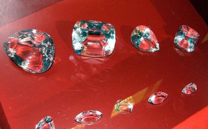Крупнейшие бриллианты, полученные из алмаза Куллинан