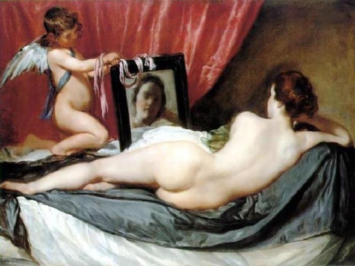 «Венера с зеркалом» Диего Веласкеса