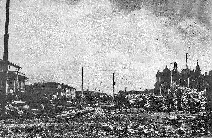 Разрушение Сухаревой башни, 1934