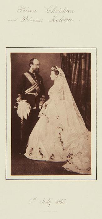 Принцесса Елена и принц Кристиан Шлезвинг-Гольштейнский
