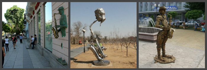 Памятники В Тбилиси, Пекине, Виннице