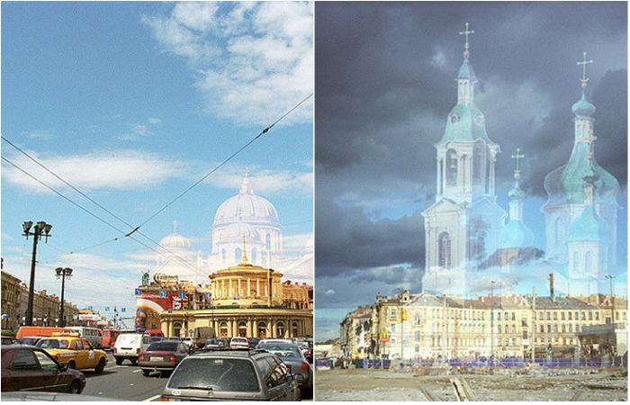 Церкви Санкт-Петербурга, уступившие место станциям метро