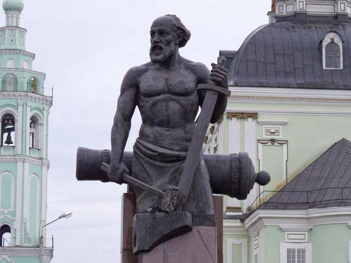 Памятник Демидову , Тульская область, Зареченский район