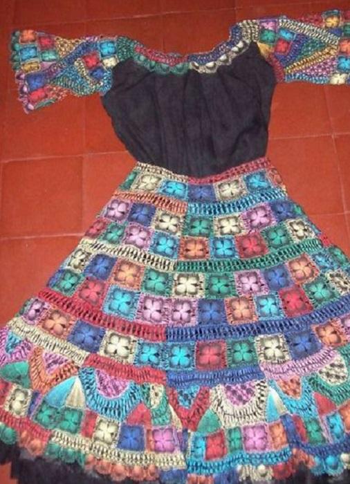 Национальный парагвайский костюм