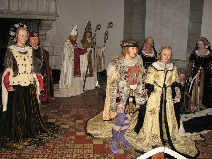 Заключение брака Карла VIII с Анной де Бретань в замке Ланже
