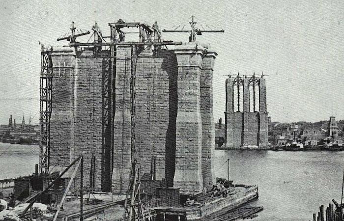 Возведение опорных башен
