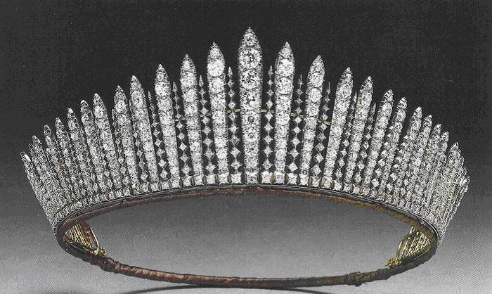 Франж-тиара короля Георга III