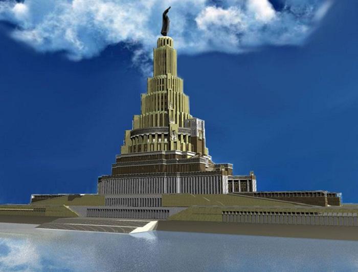 Забытый символ коммунизма - Дворец Советов