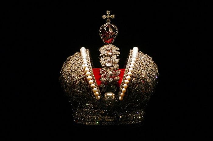 Корона Российской империи. Золото,серебро, бриллианты, жемчуг, шпинель 1762 год Мастер Иеремия Позье