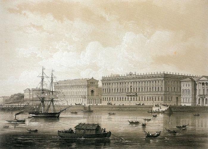 Жакотте Л. Мраморный дворец. Сер. XIX в.