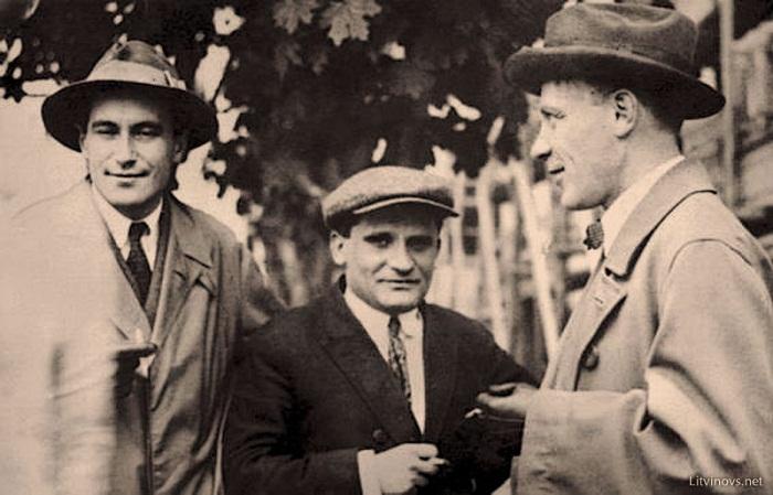 В. Катаев, Ю. Олеша, М. Булгаков