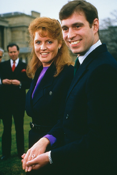 Принц Эндрю и Сара Фергюсон, 1986 год