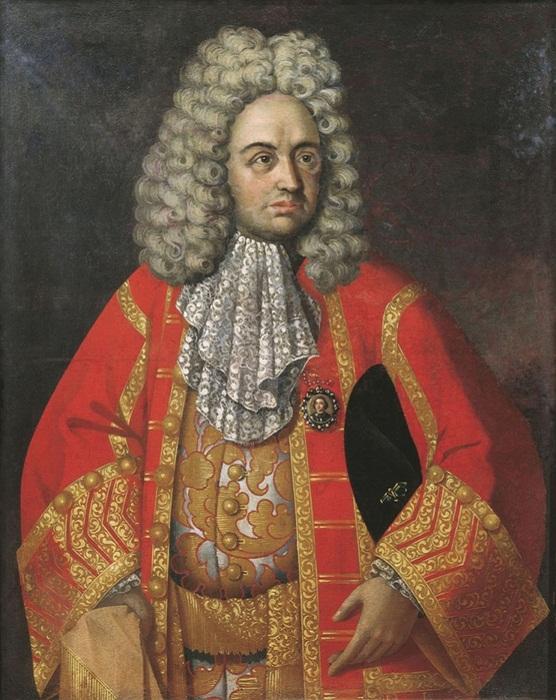 Р. Никитин. Портрет Григория Дмитриевича Строганова (1656-1715)