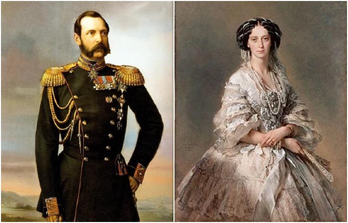 Александр II и Мария Александровна