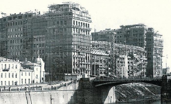 Строительство Дома Правительства