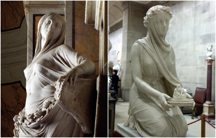 Шедевры мраморной вуали: Как итальянским мастерам удавалось создавать из мрамора тончайшую вуаль