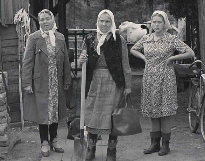 Члены монстры и белые бабы