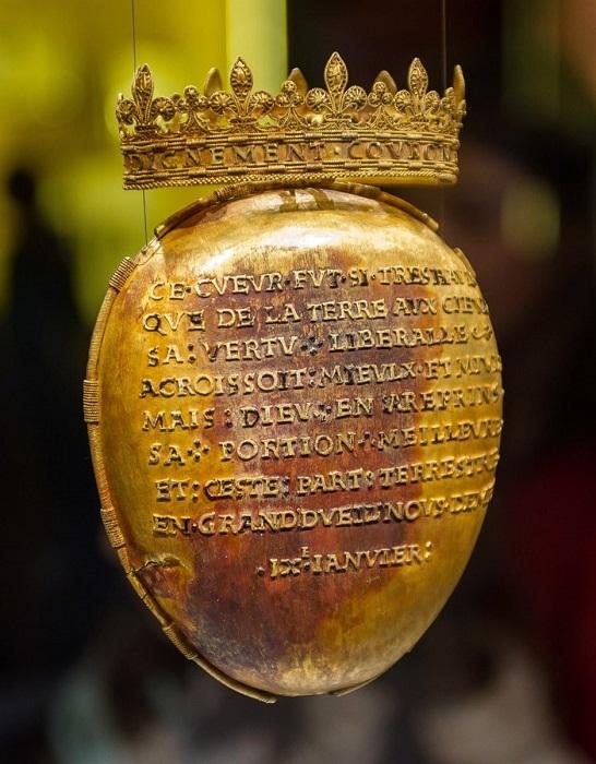 Реликварий для сердца герцогини Анны Бретани