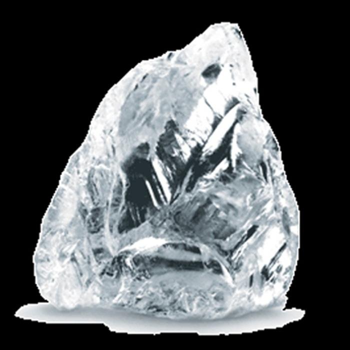 Алмаз «Эксельсиор» до огранки