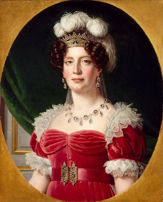 Мария Тереза Французская, дочь Марии-Антуанетты и Людовика XVI