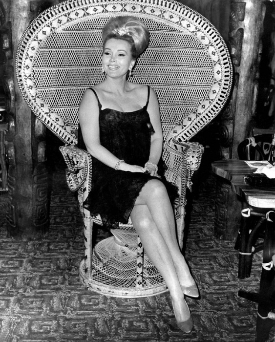 Жа Жа Гарбор, американская актриса и светская дама венгерского происхождения