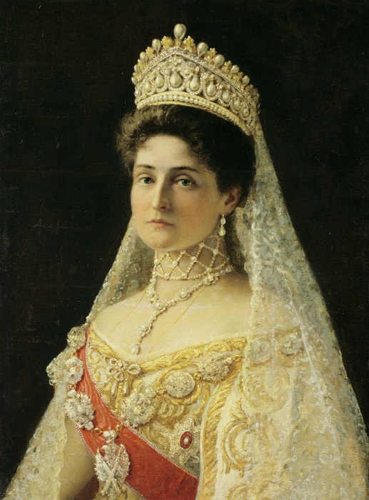 Императрица Александра Фёдоровна - супруга императора Николая II
