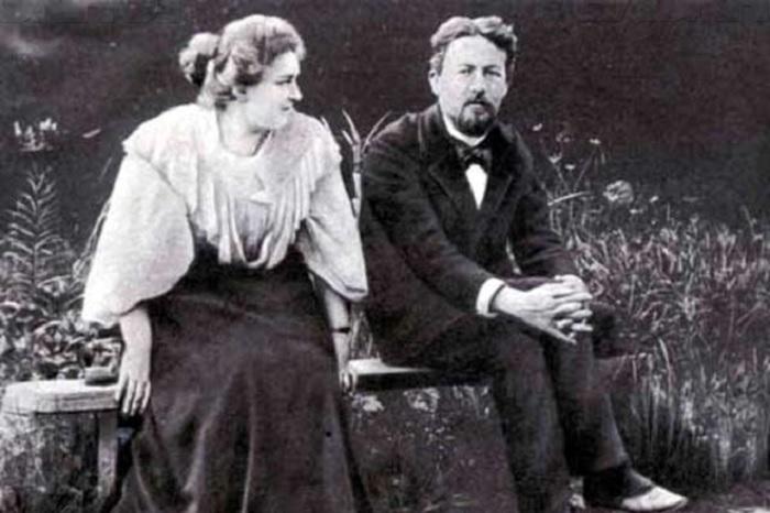 Лидия Мизинова и Антон Павлович Чехов