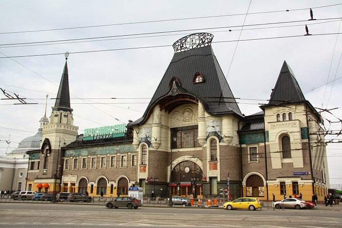 Ярославский вокзал в наши дни