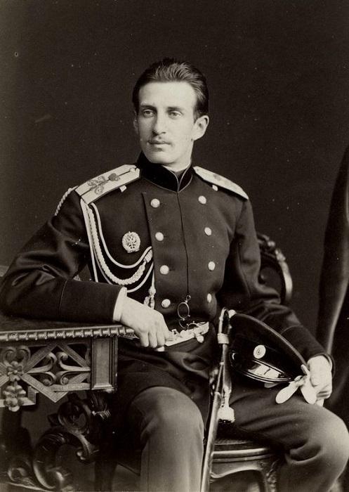 Великий князь Николай Константинович Романов. Лейб - гвардии Кавалергардский полк