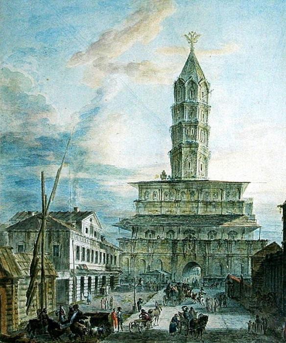 Сухарева башня, Ф.Алексеев (или его ученики). 1800-е гг.