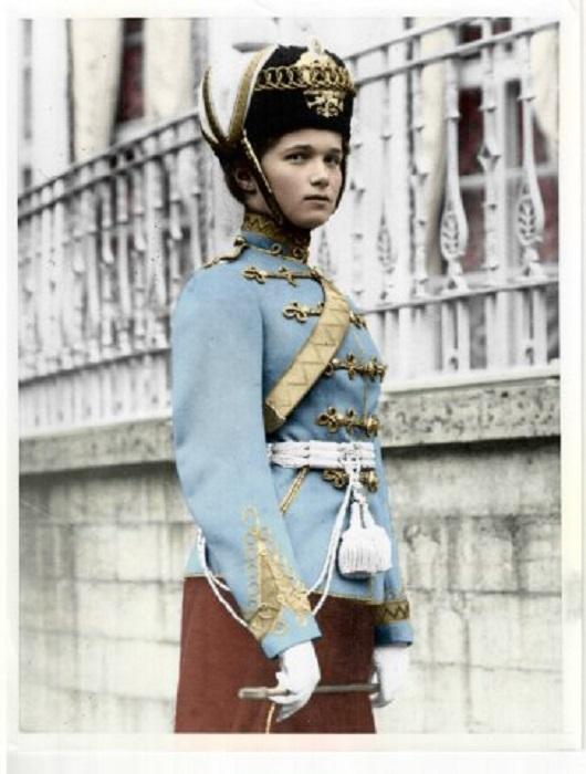 Великая княжна Ольга Николаевна, старшая дочь императора Николая II