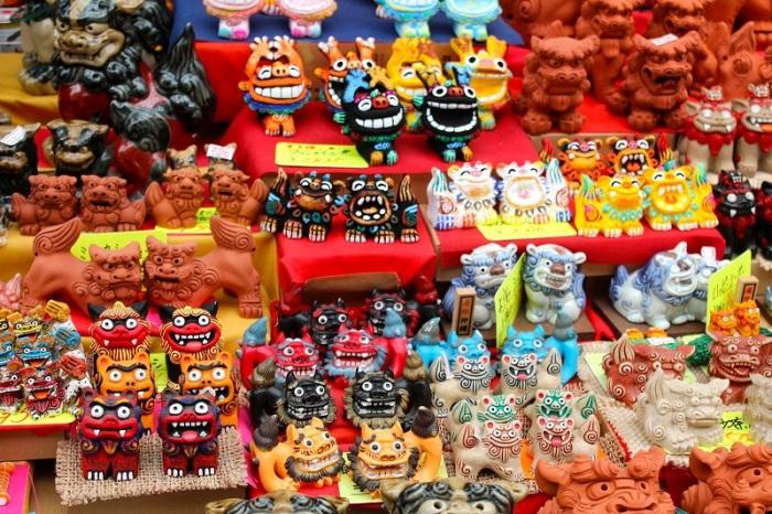 Шиса - сувениры Окинавы