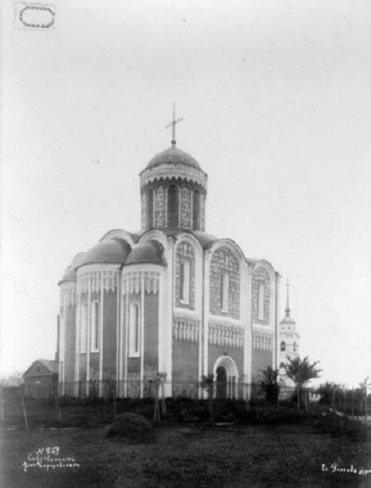 Вид с северо-востока. Барщевский И.Ф. 1883 г.
