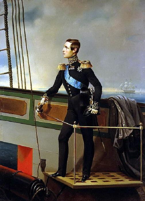Неизвестный художник Портрет Великого князя Константина Николаевича (Государственный Эрмитаж, Санкт-Петербург)