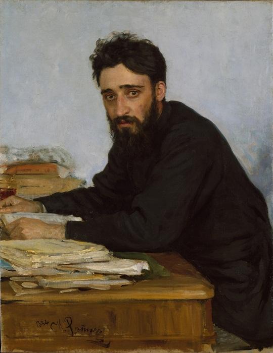 И. Репин. Портрет писателя Всеволода Михайловича Гаршина