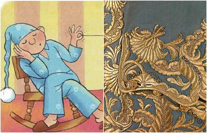 Такая вот канитель: Волшебство старинной драгоценной вышивки