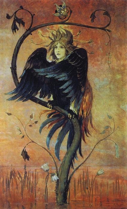 "Виктор Васнецов ""Гамаюн, птица вещая"", 1895г."