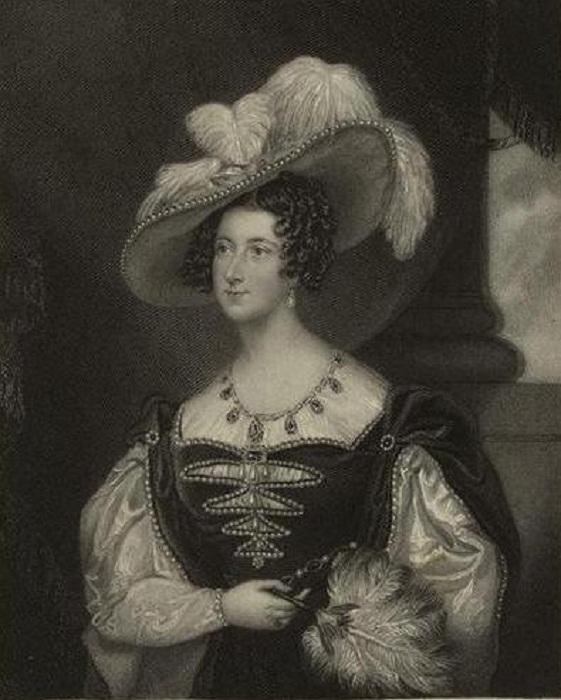 Анна Рассел, герцогиня Бедфорд в 1820 году